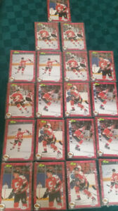 Saint John Flames Hockey Cards