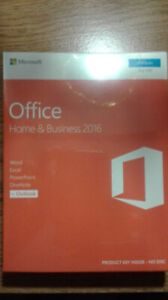 *SEALED* Microsoft Office 2016 Home and Business.