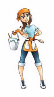 LOOKING FOR A CLEANING LADY FOR 1 DAY OF WORK $13 PER HR