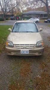 Hyundai Accent 2004 - 2 Door - Drivable - Needs Some Repairs