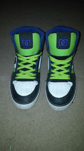 DC Mens Leather Hightops Excellent Condition