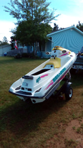 1996 Seadoo GTI and trailer