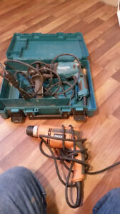 drills,   hand tools, chargers, jobsite radio