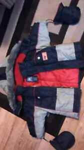 Children's Winter Coat With Attachable Mittens+MORE!! - size 18m