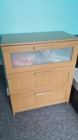 Chest of drawers (£40, £50, 2 for £80)