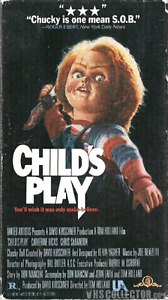 Wanted: Child's Play movies on VHS and Laserdisc