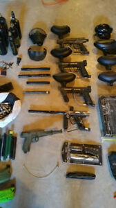 Paintball collection! Text for more info. 600$ OBO