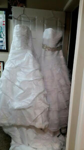 WANT GONE! Wedding dress & decorations