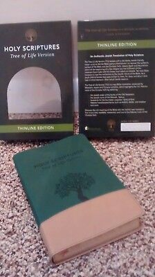 TREE OF LIFE VERSION MESSIANIC JEWSIH FAMILY BIBLE SOCIETY WITH BOX, GROVE,SAND