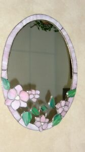 Hand Crafted Stained Glass Mirror