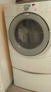 WHIRPOOL DUET DRYER AND IN GOOD CONDITION
