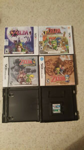 Zelda games (DS/ 3DS)