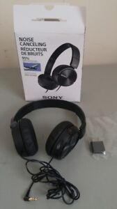 Sony MDRZX110NC On-Ear Noise Cancelling Headphones