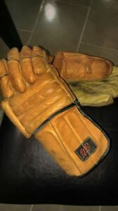 Gants de hockey D & R vintage (1960/70)