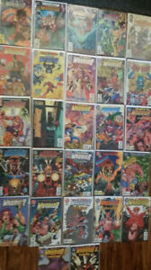27 DC COMICS - Guy Gardiner WARRIOR NM condition - Bagged and bo