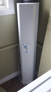 Upright dehumidifier