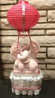 Diaper cakes centerpieces, shower gifts