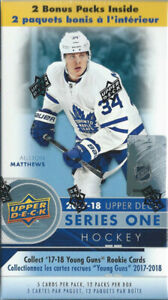 '17/18 Upper Deck Series 1 Hockey 12-Pack Box