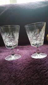 Crystal Cut Glasses