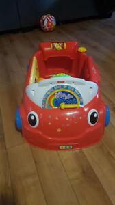 Fisher Price Lights and Sounds Car