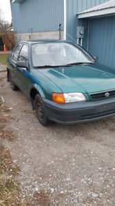Toyota Tercel Comes  Certified