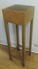Large Solid Wood Plant Stand/Table