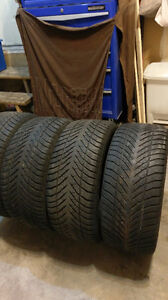 4 - 235/45/R17 EAGLE ULTRA GRIP SNOW TIRES  $30.00 each