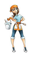 Hard working woman will do odd jobs like clean for decent wage.