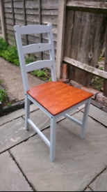 3 Ikea Jokkmokk wooden Pine Dining Chairs