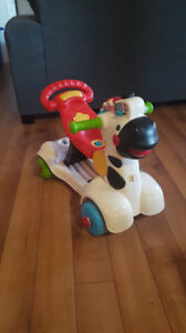 Vtech 2 in 1 walker and ride on
