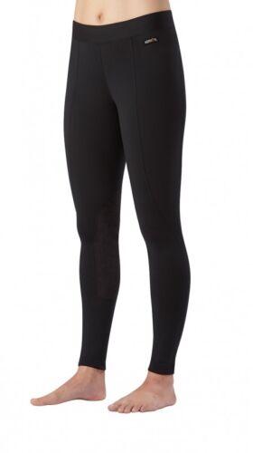 Kerrits Flow Rise Performance Riding Tights / Breeches - Ladies - BLACK