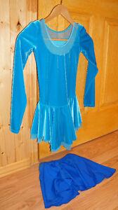 Robe jupe casque patinage artistique