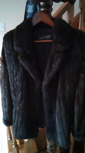 Woman's fur coat