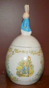 BEATRIX POTTER COOKIE JAR Oakville / Halton Region Toronto (GTA) image 2