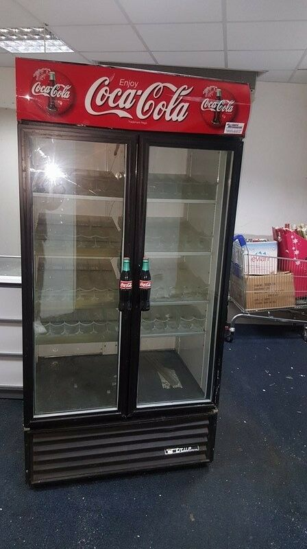 Coca-Cola Display Fridge for Shops and catering