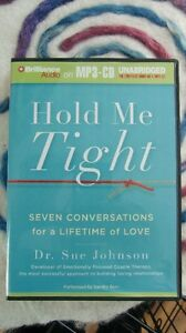 """""""Hold Me Tight"""" mp3-CD Relationship Therapy by Dr. Sue Johnson"""