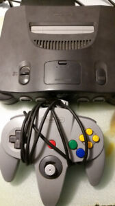 Nintendo 64 with One Controller