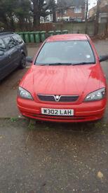 Vauxhall Astra 1.6 Automatic swap