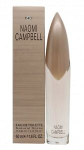NAOMI CAMPBELL NAOMI CAMPBELL EAU DE TOILETTE 50ML SPRAY - WOMEN'S FOR HER. NEW