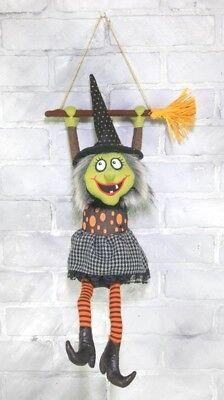 NEW!! Festive HALLOWEEN Goofy Musical Dancing WITCH Hanger 16