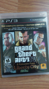 Grand Theft Auto IV & Episodes from Liberty City ps3
