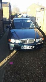 Rover 45 2.0 Tdi 03 model in great condition