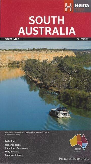 Hema South Australia Map *IN STOCK IN MELBOURNE - NEW*