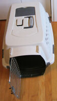 "Used Petmate Kennel Cab 23""L x 15""W x 13""H. Dog/cat carrier"
