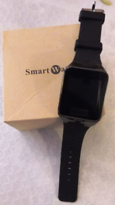 Bluetooth smart watch/phone 1.3M camera - new (8 Gb card inside)