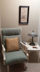 Newly Re-upholstered chair