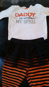 Baby girl Halloween infant costumes dress 0 - 3 months carters