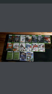 15 Xbox 360 and 2 Wii games (Bundle Only)