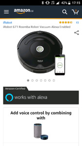 iRobot 671 Roomba Robot Vacuum-Alexa Enabled