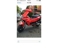 2003 gilera runner 125 vx good runner moted drive away needs tlc